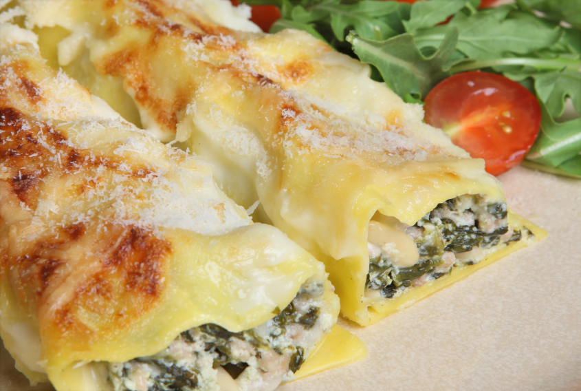 cannelloni bechamel