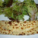 crêpe boursin lardons champignons