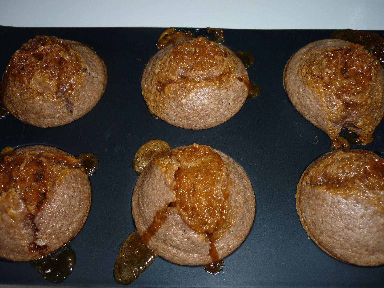 muffins caramel beurre salé
