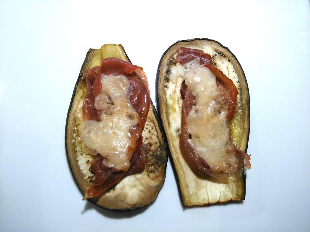 Aubergines Jambon Parmesan