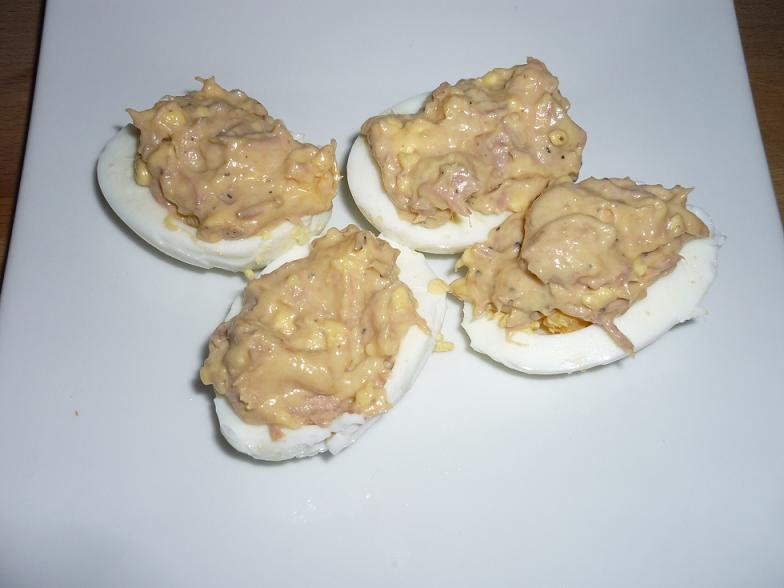 Oeufs thon mayonnaise