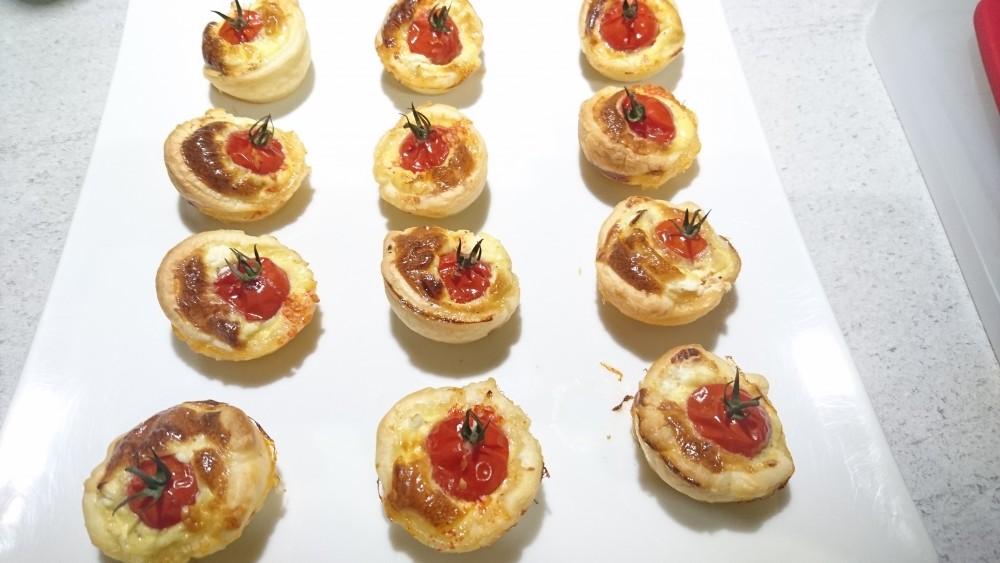 Tartelettes Chavrou Tomates