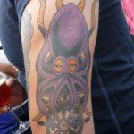 tatouage pieuvre